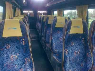 komfortowe wyposażenie autokaru